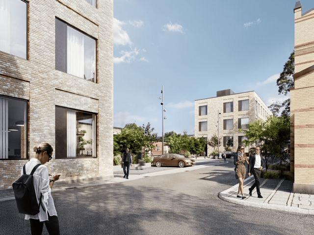 Projektet Dortheavej består af nybygning af 2 kontorbygninger på Dortheavej 8 med et samlet bruttoareal på ca. 3500 m2 inkl. kælder.