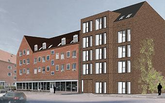 Projektet ÅLEKISTEVEJ UNGDOMSBOLIGER består af 962 m2 nybyggeri til ungdomsboliger, hhv. nedrivning af eksisterende bygning, erstatningsbolig samt opførelse af etageejendomme.