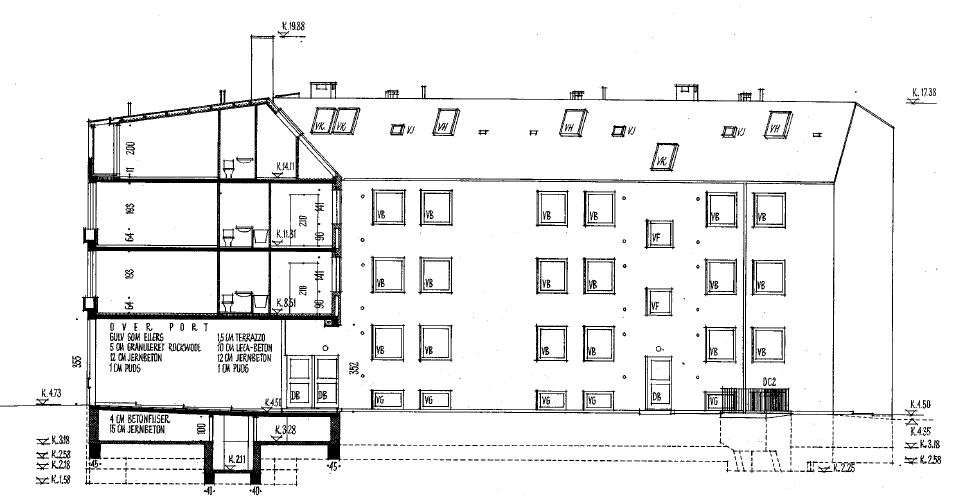 Projektet omfatter ingeniørrådgivning vedr. udskiftning af brugsvandinstallationer og faldstammer i Lejerbo's afdeling Marievej.