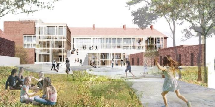 """Søborg Skole skal moderniseres, renoveres og udbygges, og være et fremstående og inspirerende eksempel på """"Fremtidens Skole"""""""