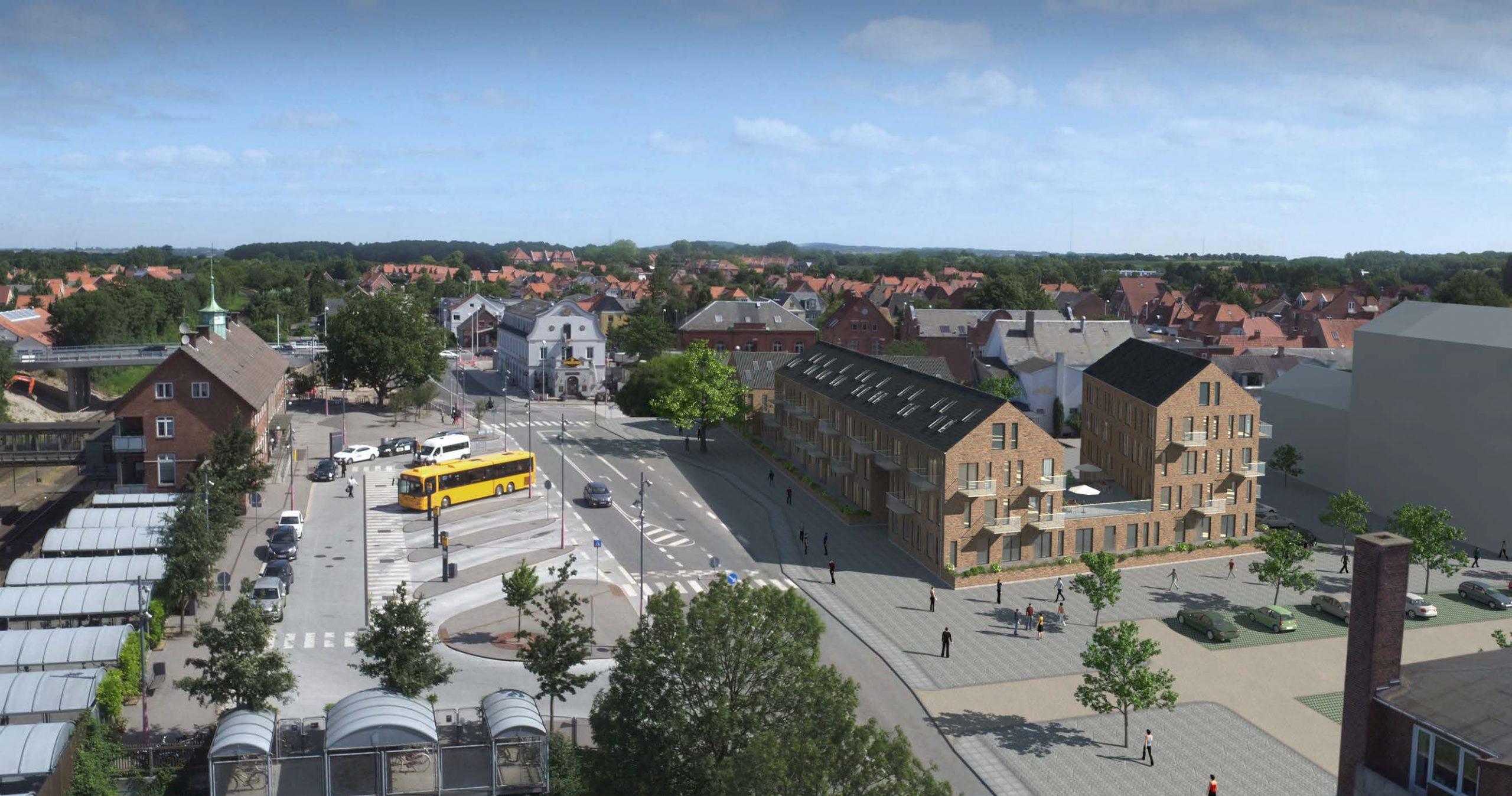 Projektet, Stationstorvet Vordingborg, omhandler teknisk rådgivning af energi, indeklima og tekniske installationer til nybyg af 4.100 kvm alment boligbyggeri.