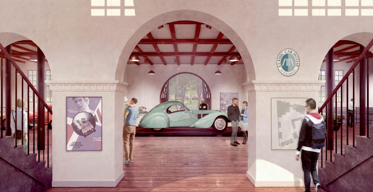 Projektet omfatter teknisk rådgivning og bistand vedrørende Classic Car House, beliggende på Kongevejen i Kongens Lyngby